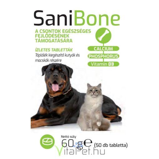 Sani BONE 2x50 db Csonterősítő tabletta kutyáknak és macskáknak