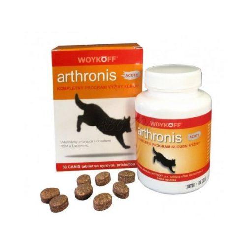 Arthronis Akut ízületi fájdalomcsillapító, gyulladáscsökkentő tabletta kutyának 60 db