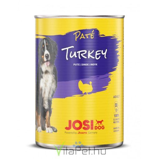 JosiDog Pulyka pástétom 400 g konzerv felnőtt kutyák részére