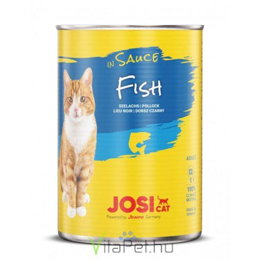 JosiCat Hal szószban 415 g konzerv felnőtt macskák részére