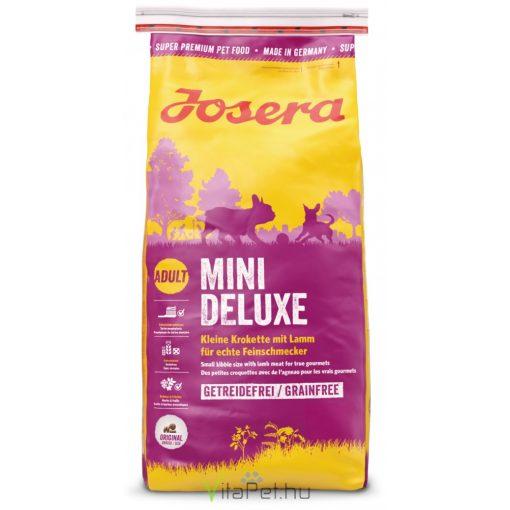 Josera Dog MiniDeluxe  900 g száraztáp, gabonamentes, kistestű felnőtt kutyáknak