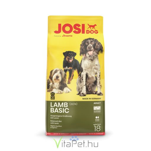 JosiDog Lamb Basic (22/14) 18 kg