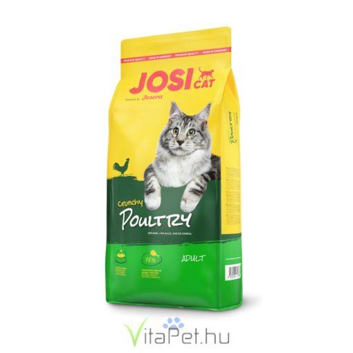 JosiCat Crunchy Poultry 7 x 650 g  (4,55 kg)