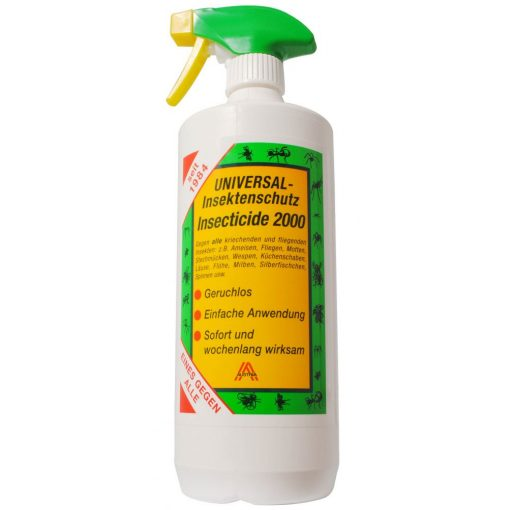 Insecticide 2000 flea- tick and other insect killing spray 500 ml