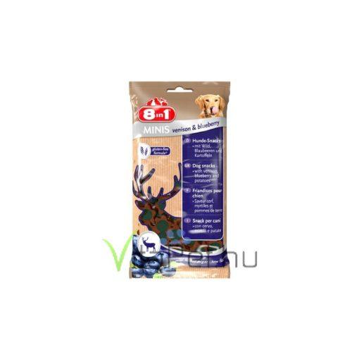8in1 Minis Venison & Blueberry jutalom falat, 100 g
