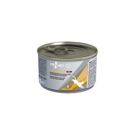 Trovet Urinary Struvite (ASD) konzervtáp macskának, marhás, 24x85 g