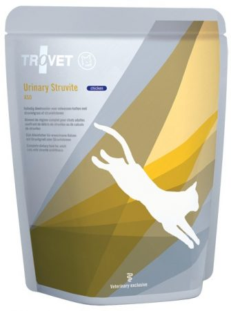 Trovet Urinary Struvite (ASD) alutasakos eledel macskának csirkés 85 g