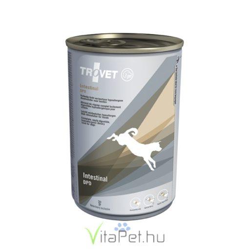 TROVET Hypoallergenic  INTESTINAL DUCK&POTATO Diet/DPD kutyáknak 400 g konzerv 12 db