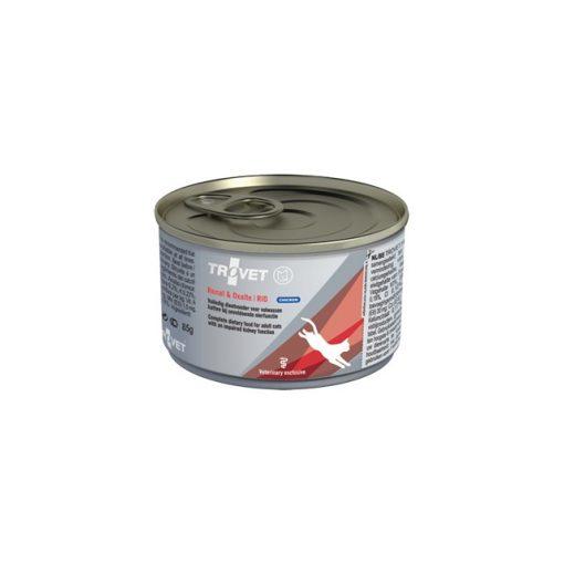TROVET RENAL & OXALATE DIET /RID bárányhúsos konzerv macskáknak, 85g 24 db