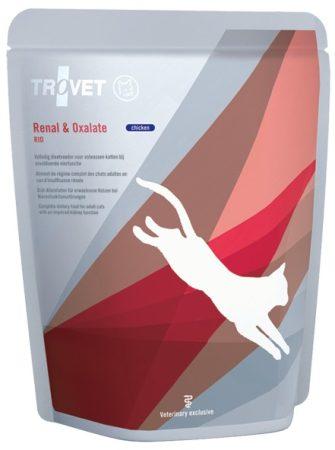 Trovet Renal & Oxalate (RID) alutasakos eledel macskának csirkés 85 g