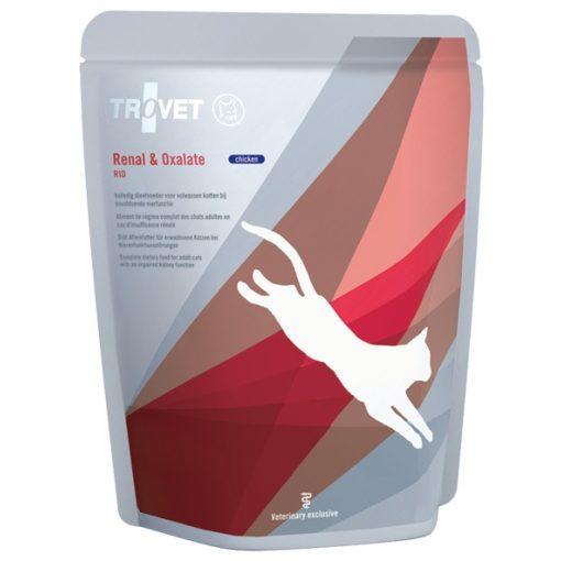 Trovet Renal & Oxalate (RID) alutasakos eledel macskának csirkehússal, 85 g