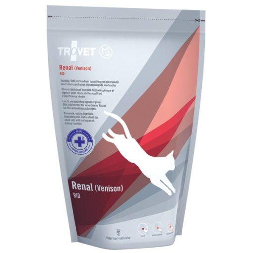 Trovet Renal (RID) Venison (vadas) száraztáp macska 0,5 kg