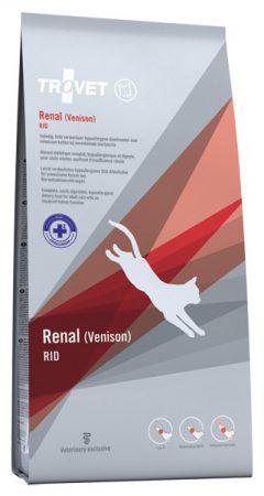 Trovet Renal (RID) Venison (vadas) száraztáp macska 3 kg