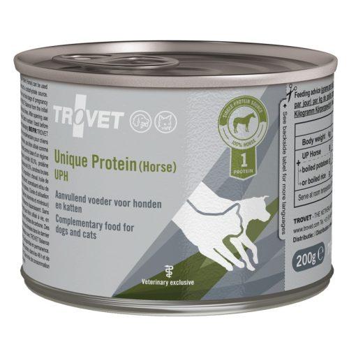 Trovet Unique Protein Horse UPH (lovas) konzervtáp kutyának és macskának 200 g