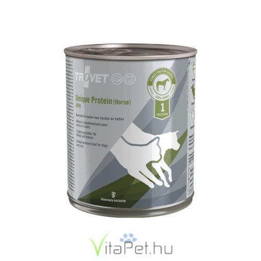 Trovet Unique Protein Horse UPH (lovas) konzervtáp kutyának és macskának 800 g