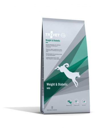 Trovet Weigh and Diabetic (low calorie) dryfood 3 kg dog (WRD)