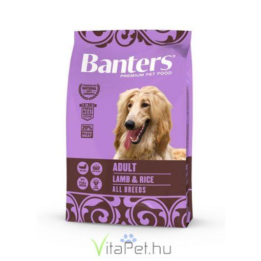 VISÁN BANTERS DOG ADULT LAMB & RICE 3 kg