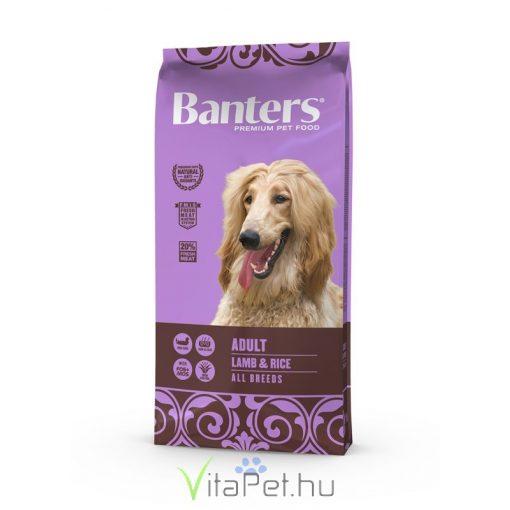 VISÁN BANTERS DOG ADULT LAMB & RICE 15 kg