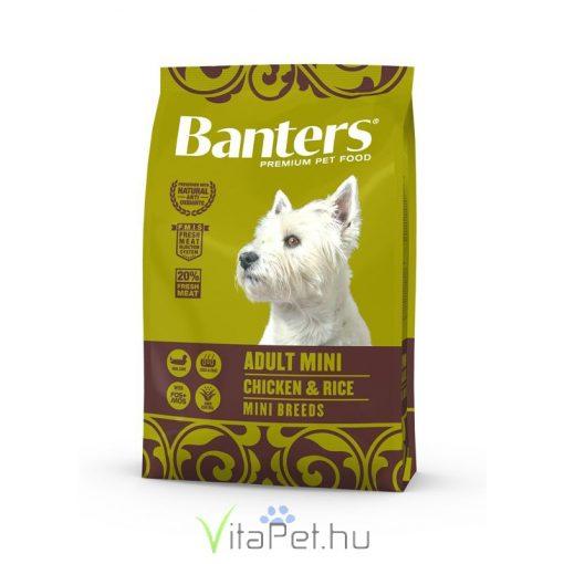VISÁN BANTERS DOG ADULT MINI CHICKEN & RICE 3 kg