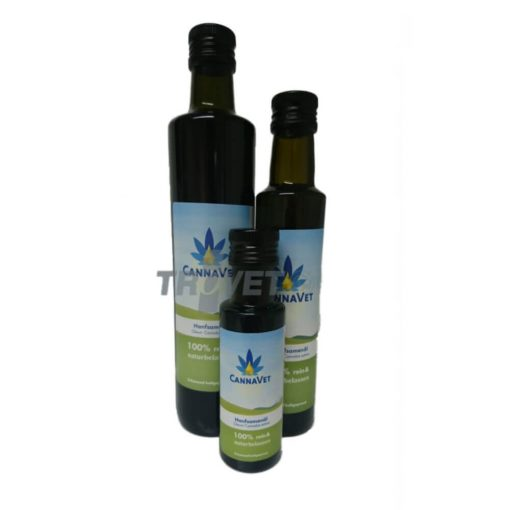CannaVet Bio Kendermag olaj  100ml (Hemp-Seed-Oil)