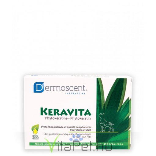 Dermoscent Keravita tabletta kutyának és macskának 30 db