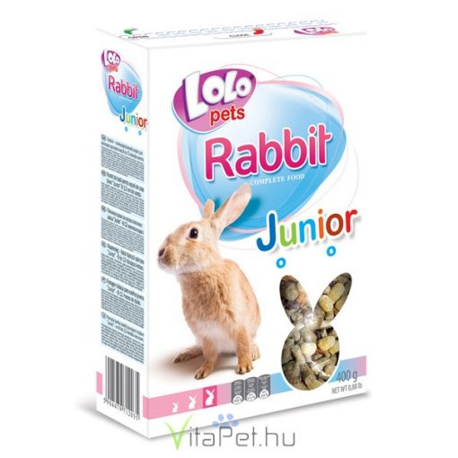 Lolo Rabbit Junior - food for young rabbit (8-12 months) 400 g