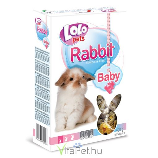 Lolo Rabbit Baby - Kölyök nyusziknak 3 hónapos kor alatt  400 g
