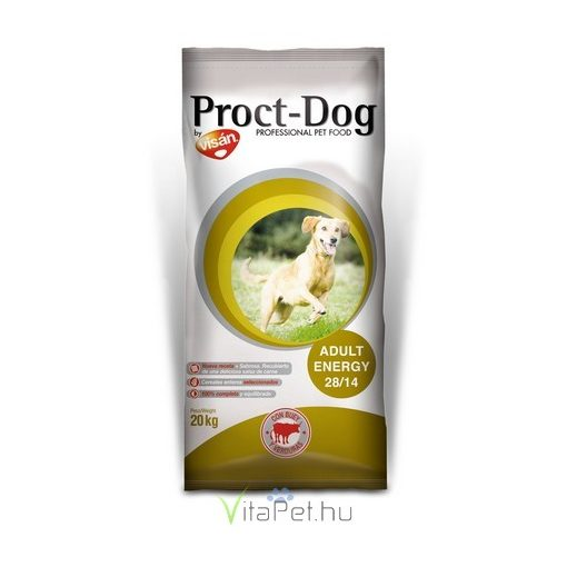 Visán Proct-Dog Adult Energy (28/14) 20 kg
