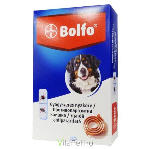 Bolfo bolha és kullancs elleni nyakörv kutyák részére 70 cm