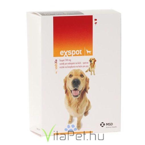 EX-SPOT 6 x 1 ml bőrre csepegtethető oldat kutyák részére