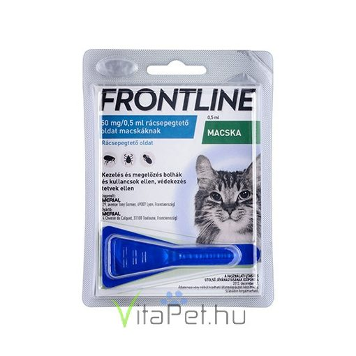 Frontline Combo spot on for cats against fleas and ticks