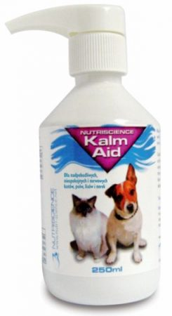 Kalm aid relaxing liquid for dogs