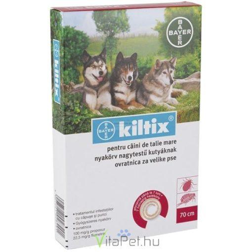 """Kiltix nyakörv nagytestű kutyáknak """"L"""" méret"""