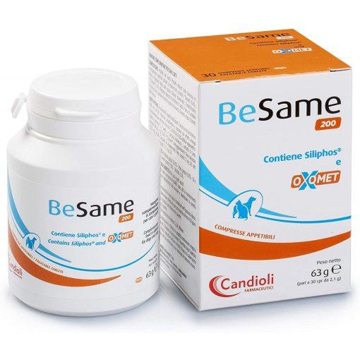 Candioli BeSame 200 mg tabletta májműködés támogatására 30 db