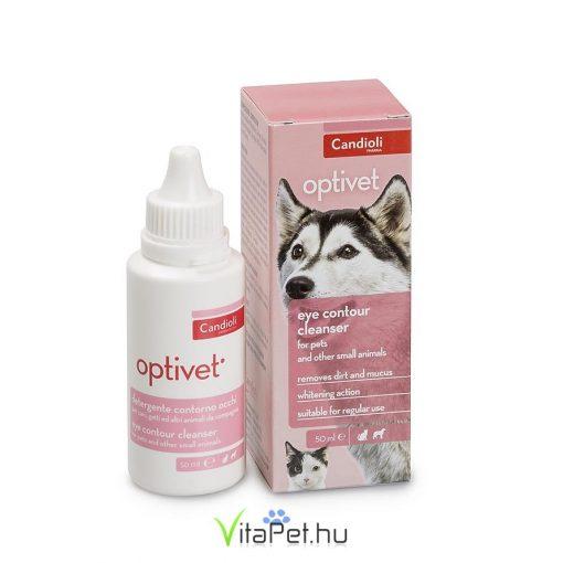 Candioli Optivet szemkörnyék tisztító oldat 50 ml