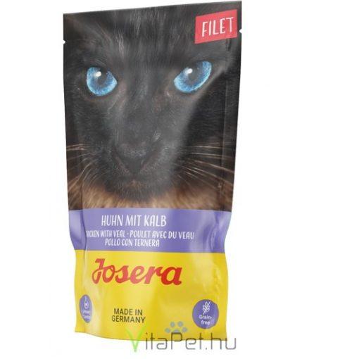 Josera Filet Chicken with Veal 70 g alutasakos nedves eledel felnőtt macskák részére