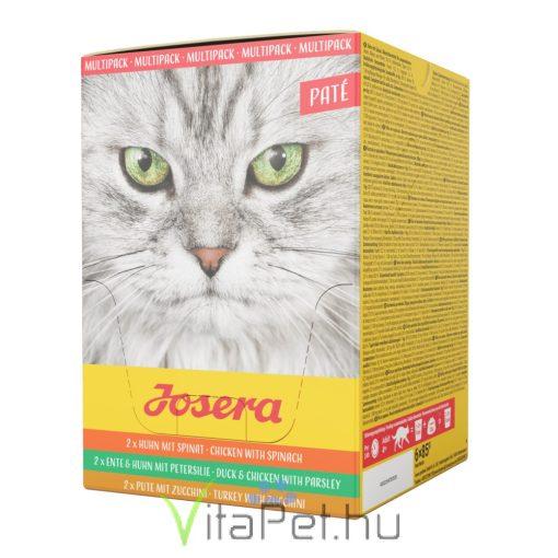 Josera Multipack Paté 6 x 85 g alutasakos nedves táp válogatás felnőtt macskák részére