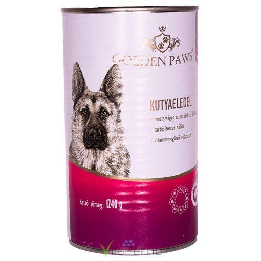 12 DB Josera Golden Paws ECO Dog marhahússal 1240g  felnőtt kutyák  részére