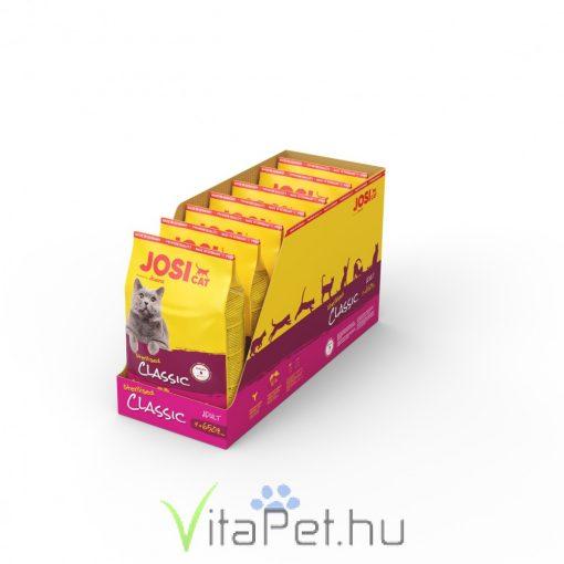 JosiCat Sterilised Classic 7 x 650 g (4,55 kg) száraztáp ivartalanított felnőtt macskáknak