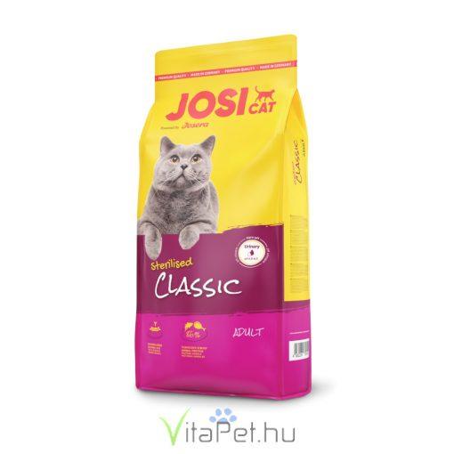 JosiCat Sterilised Classic 650 g száraz táp ivartalanított felnőtt macskáknak