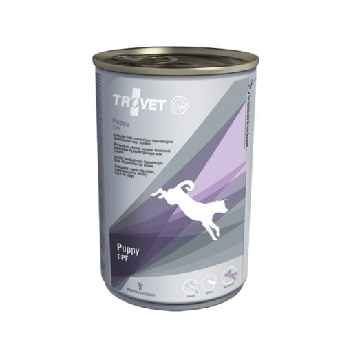 Trovet CPF wetfood for puppies and juniors