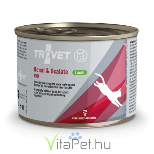 Trovet Renal & Oxalate (RID) Cat Can 175g