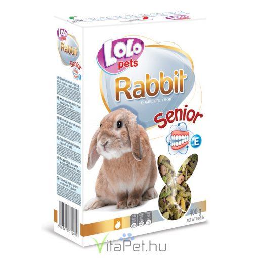 Lolo Rabbit Senior - Idős  nyulak részére 5 éves kor felett  400 g