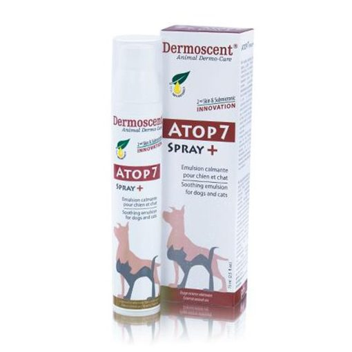 Dermoscent Atop 7 spray+ kutyának és macskának 75 ml