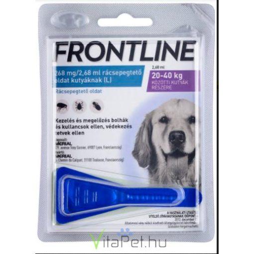 Frontline Spot-on kutyák részére 20-40  kg. L