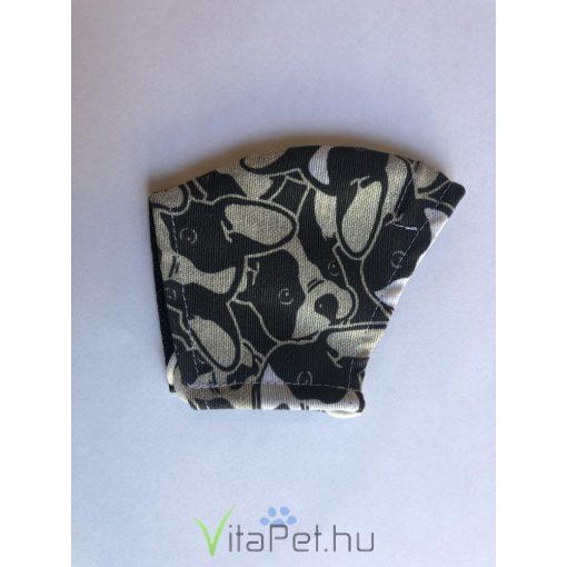 Maszk textil,  mintás, mosható, GYERMEK méret